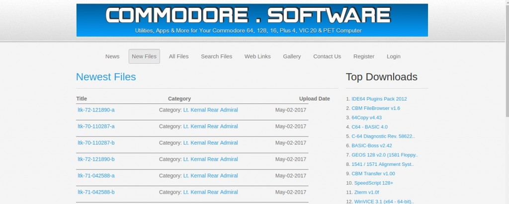 commodore software